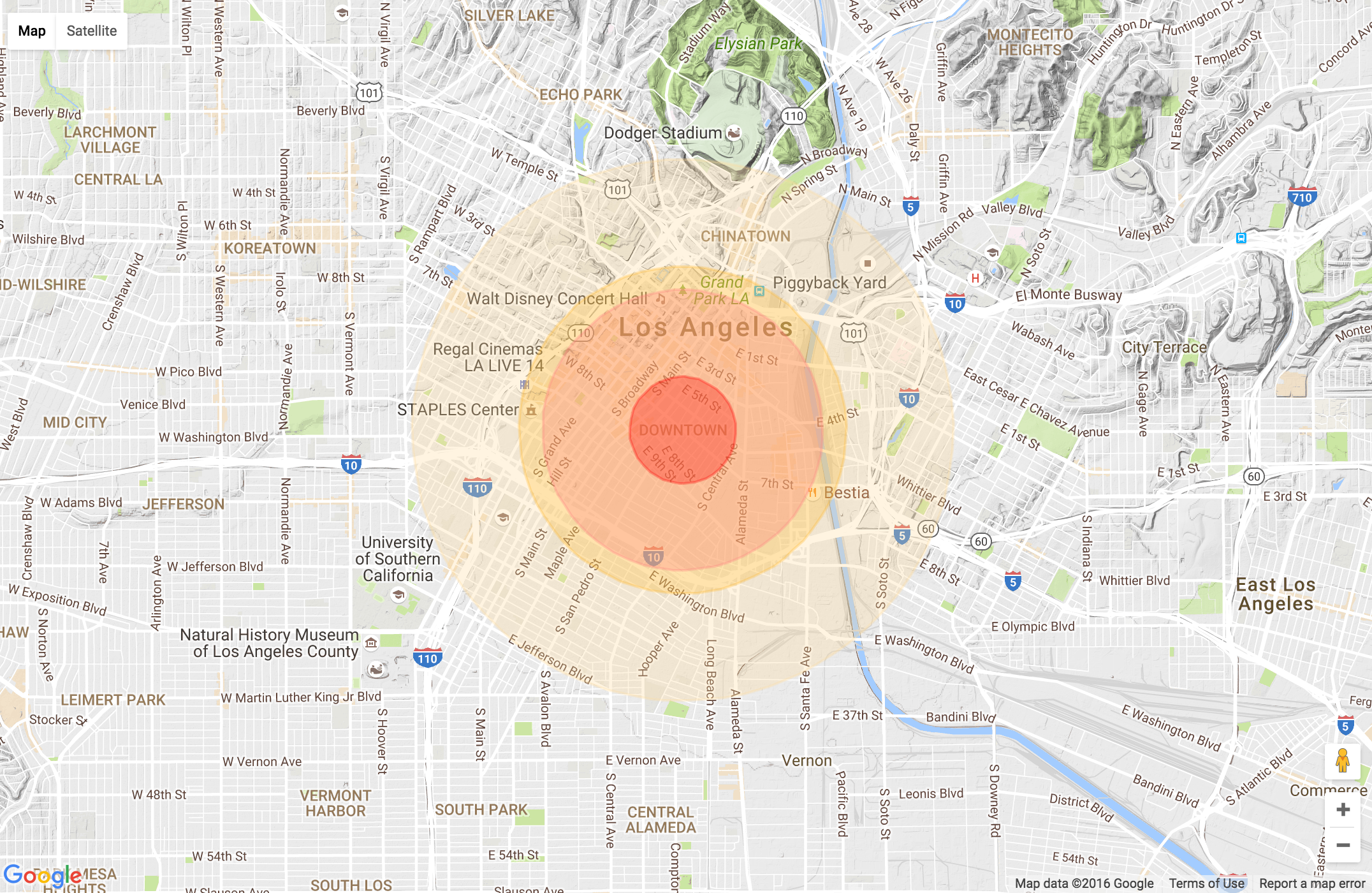 Nuclear War Map what would happen in a nuclear war